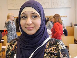 Mimy Ismail, mamma till Faynan, åtta, Malmö