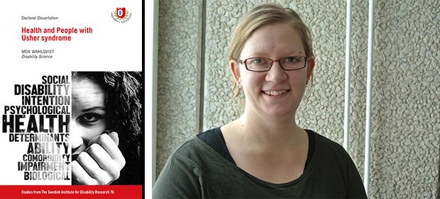 Moa Wahlqvists avhandling är den största som gjorts om personer med dövblindhet och deras hälsa.