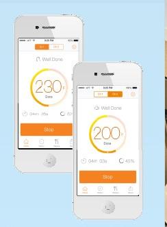 Mobilen med appen