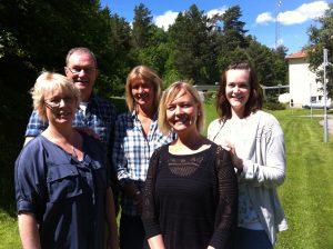 Bakre: Per Nyling, Jenny Näslund, Caroline Lindström Främre: Annica Boström, Anna-Lena Jansson