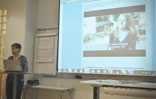 Sonja Friberg berättade om Chargekonferensen i tyska Oberwesel 2014.
