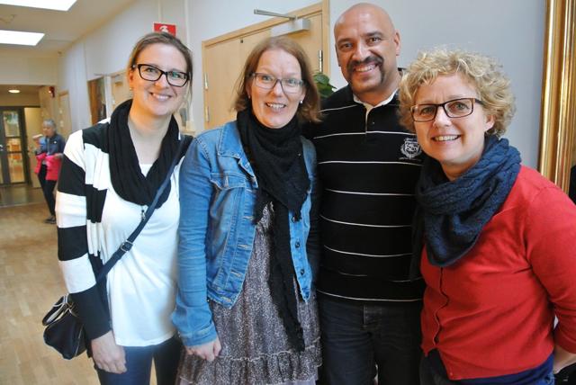 Från Växjö deltog Charlotte Holmqvist, Petra Haglund, Miguel Martina och Eva Jonsson.