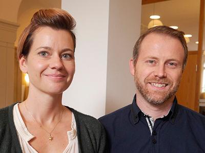 Sofi och Daniel Jakandré, föräldrar till Milton, nio år, Åkarp
