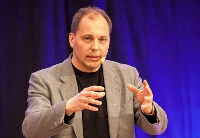 Hans Erik Frölander föreläser