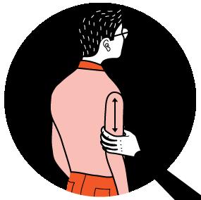 signal för dricka, illustration