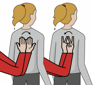 """Illustration av tecknet för """"Tolkbyte"""""""
