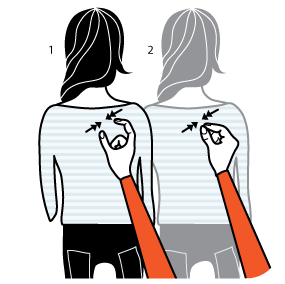Illustration av signalen för flirta