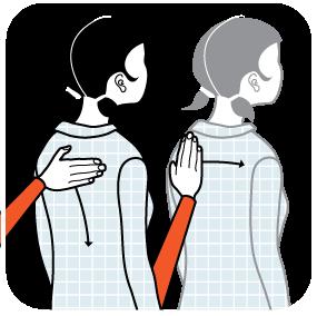 signal för att önska god natt, illustration
