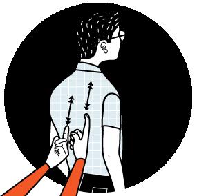 Illustration av signalen för irriterad