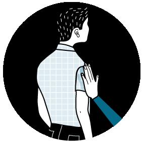 Illustration av signalen för Ja