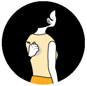 Illustration av signalen för att knacka på dörren