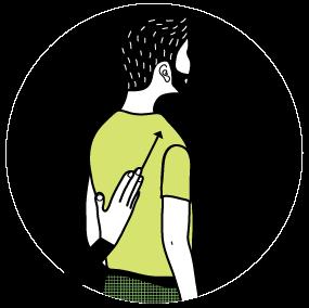signal för riktning, illustration