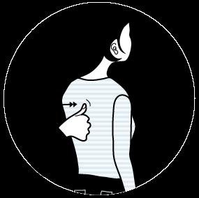 signalen för ringa på dörren, illustration