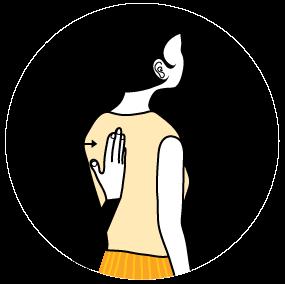 Illustration av signalen för rätt