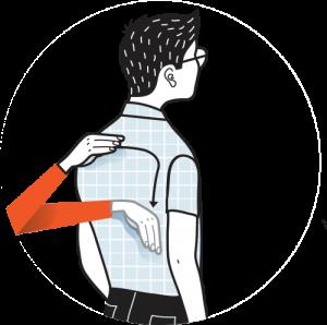 Illustration av signalen för blyg