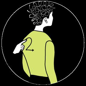 Illustration av signalen för siffran 2