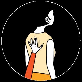 signal för tala, illustration