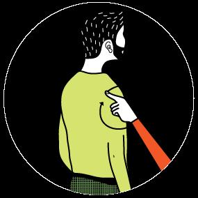 signal för tallrik, illustration