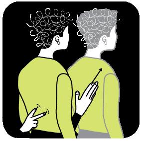 Illustration av signalen för titta