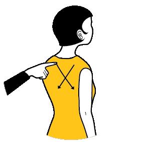 signal för toalett, illustration
