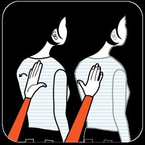 Illustration av signalen för tolk