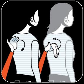 signal för sömnig eller trött, illustration