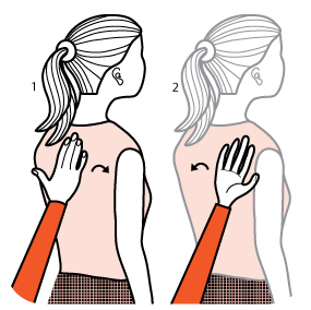 Illustration av signalen för att vara tveksam