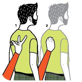 Illustration av signalen för va!