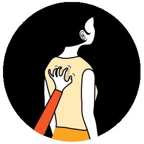 Illustration av signalen för Vad skulle jag säga?