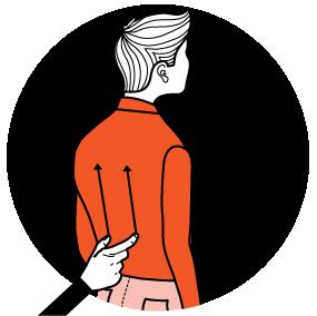 signalen för väg, illustration