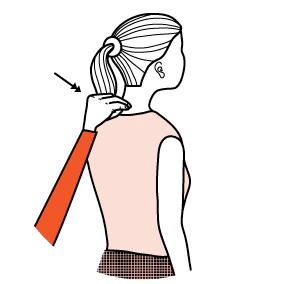 Illustration av signalen för att äta