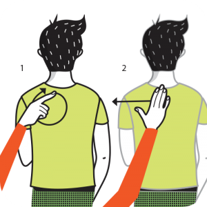 Illustration av signalen för att ta bort tallrik