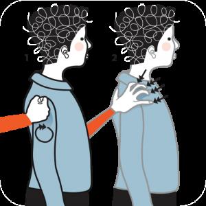 Illustration av signalen för apelsin