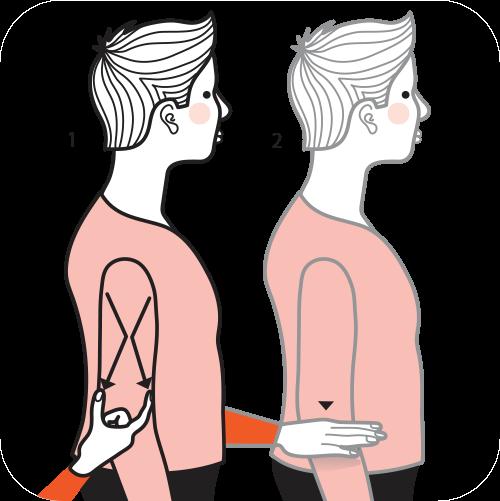 signalen för kort kvinna, illustration