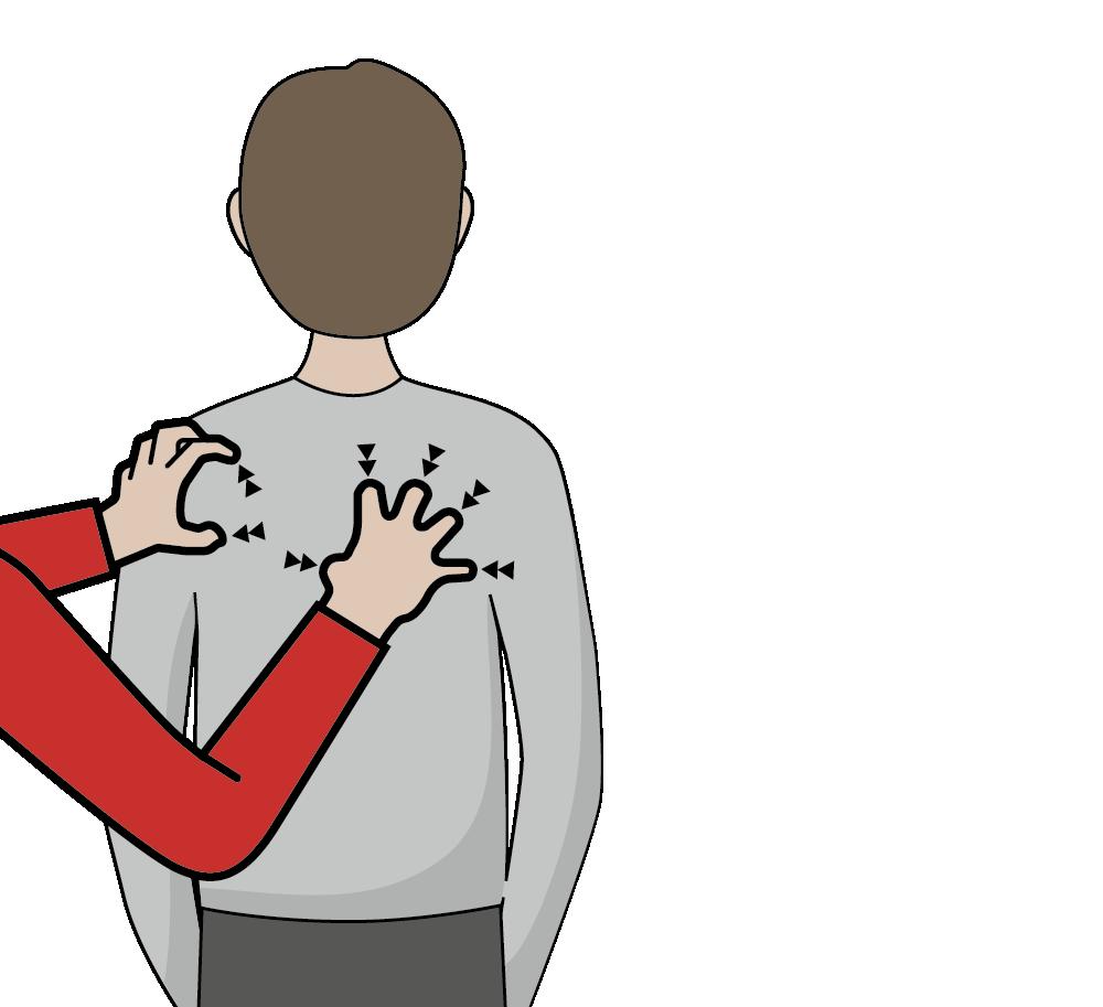 signal för bu, skrämma eller spöke, illustration