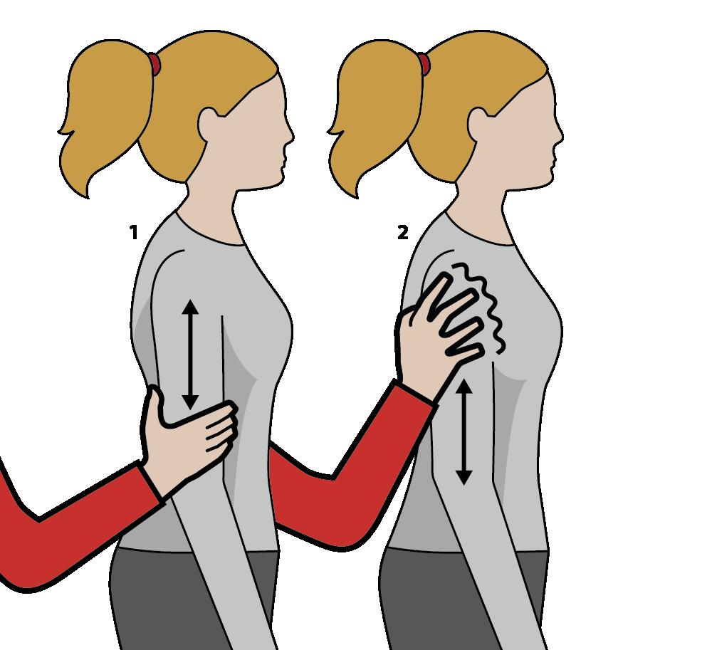 signal för läss eller champagne, illustration