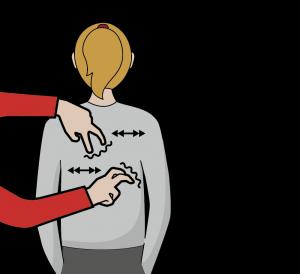 Illustration av signalen för att dansa