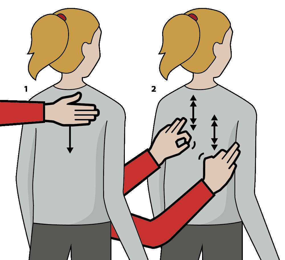 signalen för att önska gott nytt år, illustration