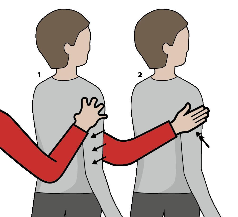 signal för knäckebröd, illustration