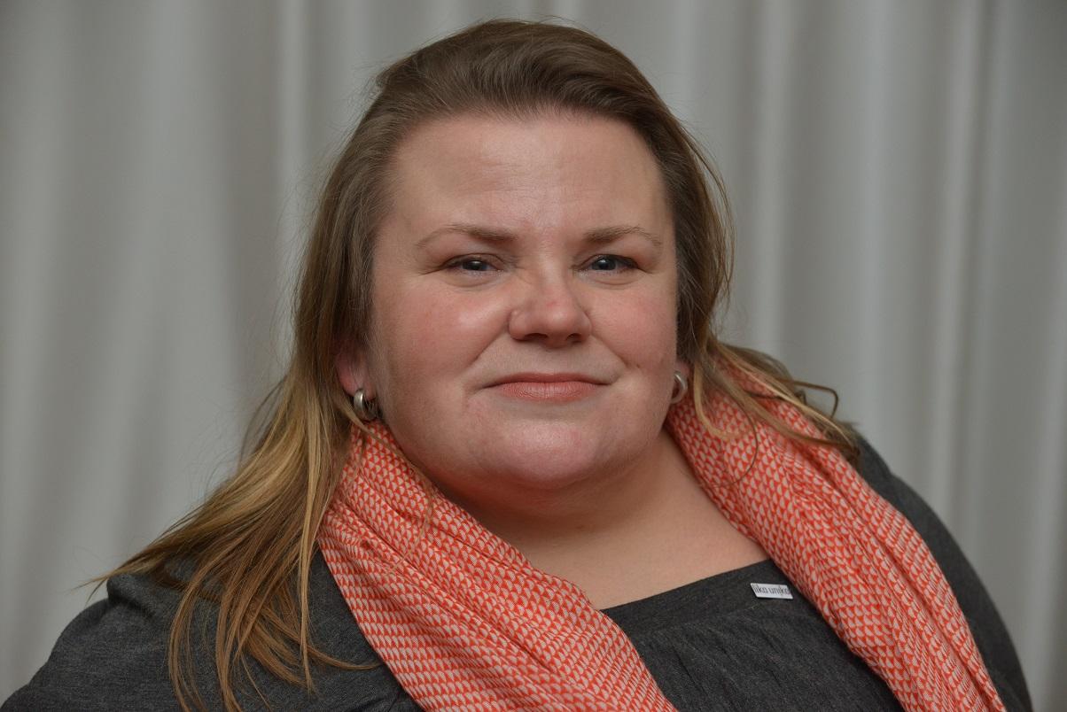 Porträtt Maria Johansson