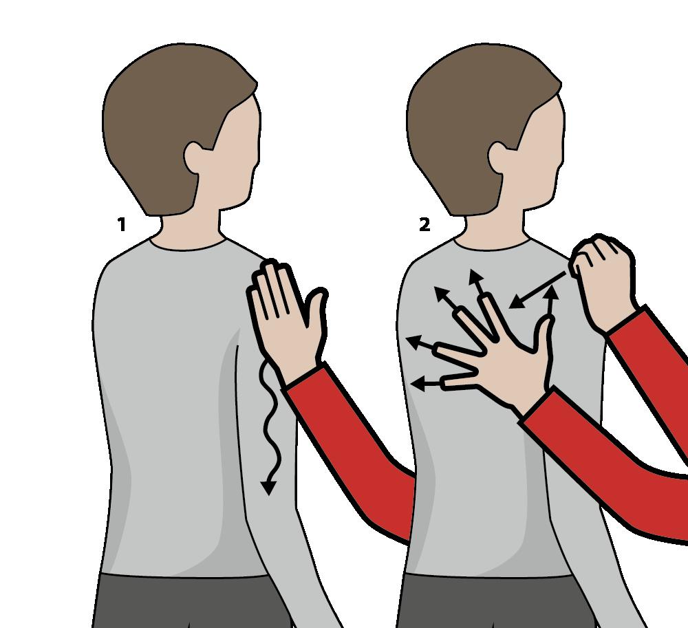 Illustration av signalen för orange