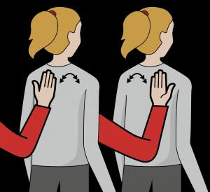 """Illustration av tecknet för """"Tolka"""""""