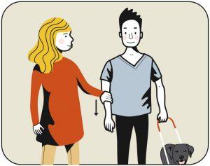 Illustration av signalen för att sela av
