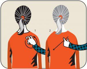 Illustration av signalen för sök bänk