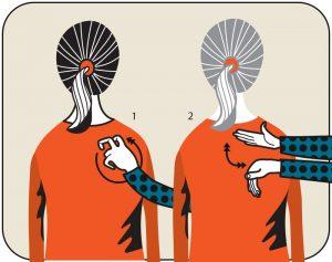 Illustration av signalen för sök dörr