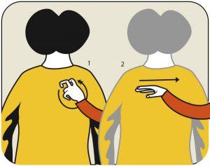 Illustration av signalen för sök kant, alternativ 2