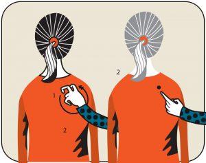 Illustration av signalen för sök stople