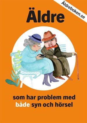 """framsida publikation """"Äldreboken"""""""
