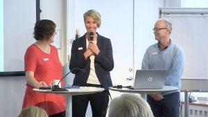 Foto på Karin Jönsson, Jenny Widmark och Thomas Ragnarsson