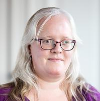 porträtt Linda Eriksson, foto